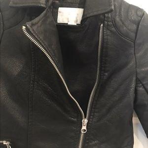 Xhilaration Jackets & Coats - Girls leather Jacket ( black )